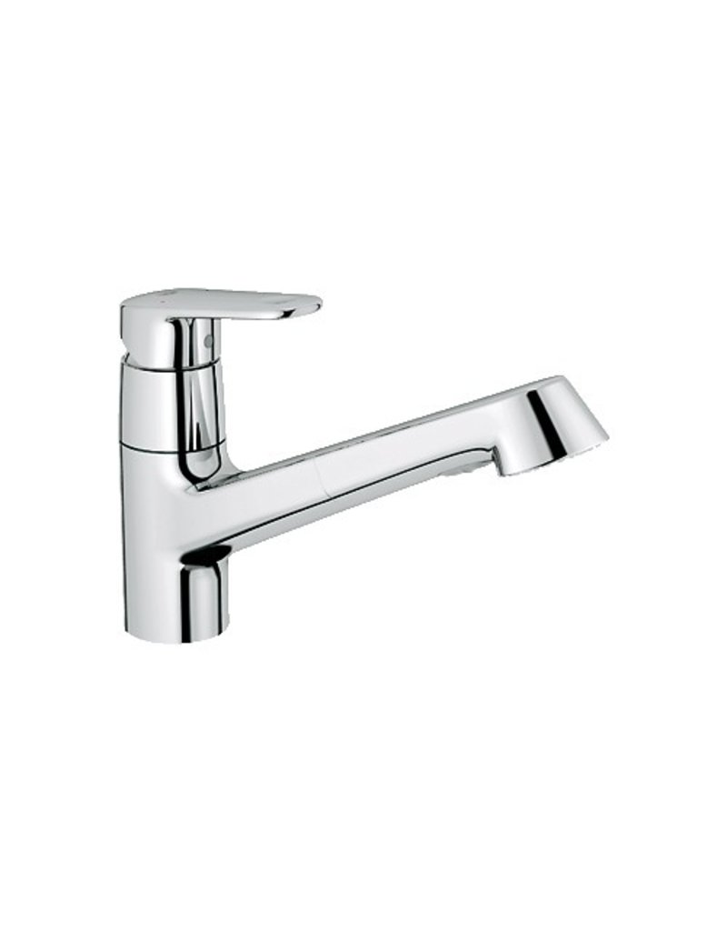 grohe 3294620e europlus kitchen faucet pull out dual spray home