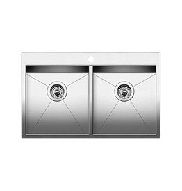 Blanco Blanco 401646 Quatrus Drop In 2.0 1 Hole Stainless Steel