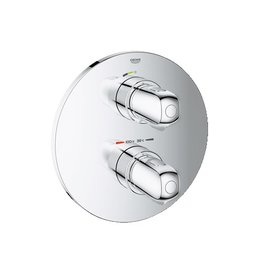 Grohe Grohe 19982000 Grohtherm 1000 THM Trim With Integrated VC Chrome
