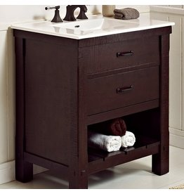 """Fairmont Designs Fairmont Designs 1506 VH30 Napa 30"""" Open Shelf Vanity"""