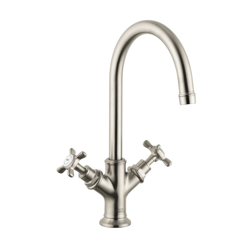 Hansgrohe 16506821 Axor Montreux 2 Handle Single Hole Faucet No Pop ...