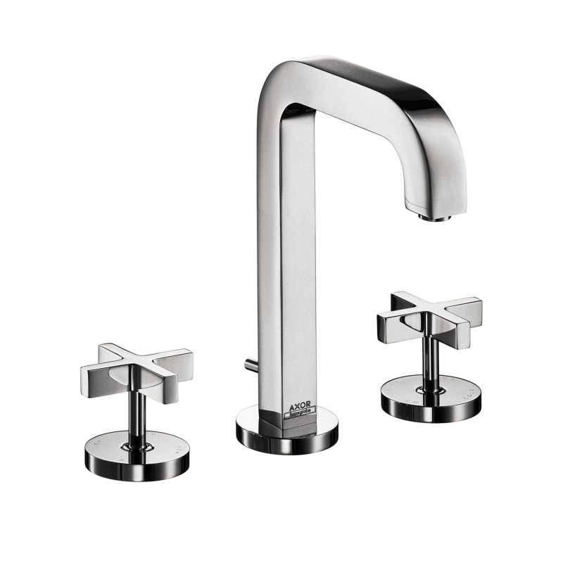 Hansgrohe 39133001 Axor Citterio Widespread Faucet Cross Handles ...