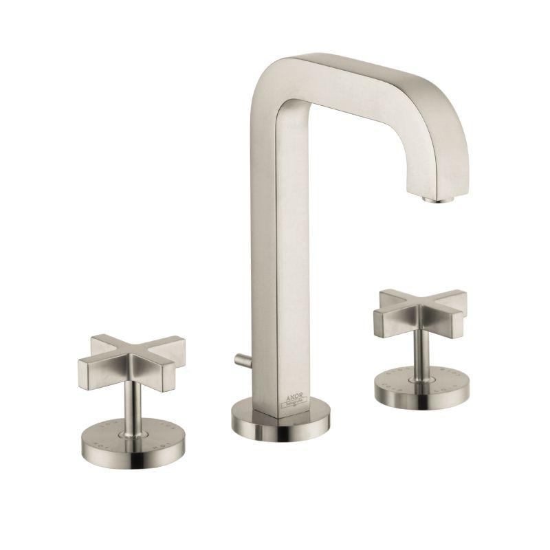Hansgrohe 39133821 Axor Citterio Widespread Faucet Cross Handles