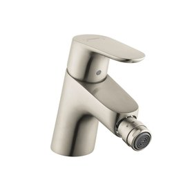 Hansgrohe Hansgrohe 31920821 Focus Single Hole Bidet Faucet Brushed Nickel