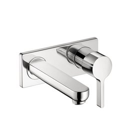Hansgrohe Hansgrohe 31163001 Metris S Wall Mounted Single Handle Faucet Chrome