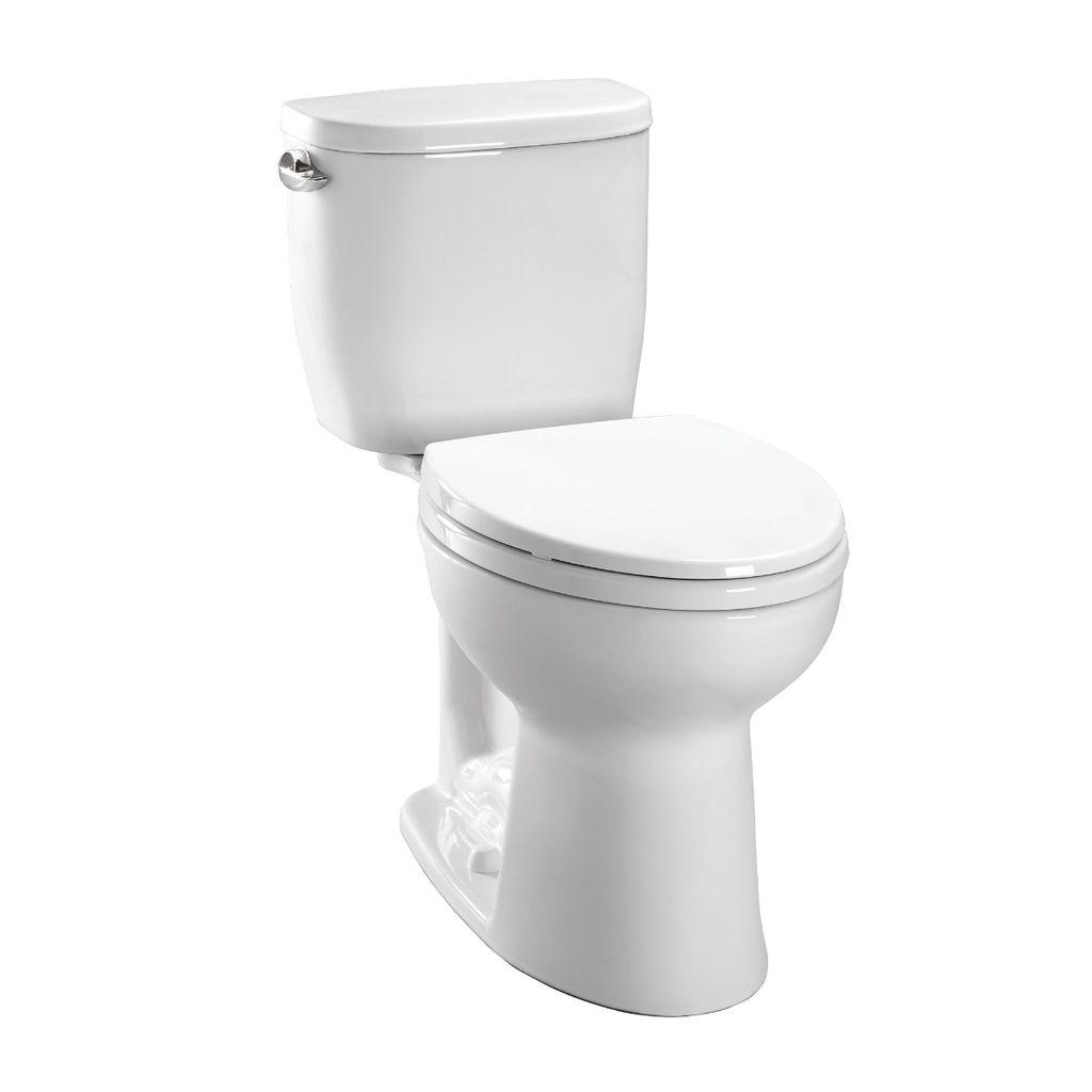 Toto CST243EF Entrada Round Toilet - Home Comfort Centre