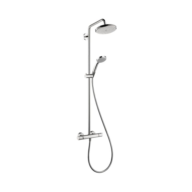 Hansgrohe 27185001 Croma 220 Showerpipe - Home Comfort Centre