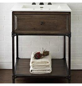 "Fairmont Designs Fairmont Designs 1401-VH24 Toledo 24"" Open Shelf Vanity"