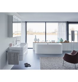 "Duravit Duravit Happy D.2 Vanity Unit 38-3/8"" - High Gloss White"