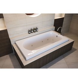 "Mirolin Mirolin BO67S Bliss Slimline 60"" x 32"" Drop-In Bath Tub"