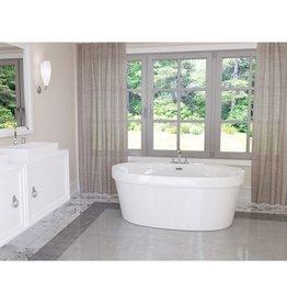 "Mirolin Mirolin CF2006 Cari 60"" x 32"" Freestanding Tub"