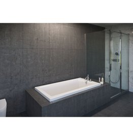 "Mirolin Mirolin BO652 Adda 2"" Profile 60"" x 32"" Drop-In Bath Tub"