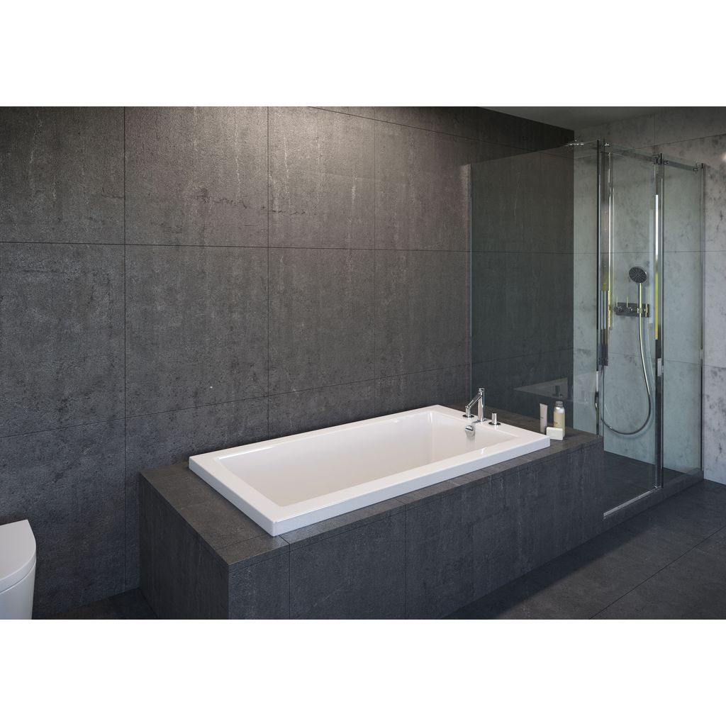 "Mirolin BO652 Adda 2"" Profile 60"" x 32"" Drop-In Bath Tub - Home ..."
