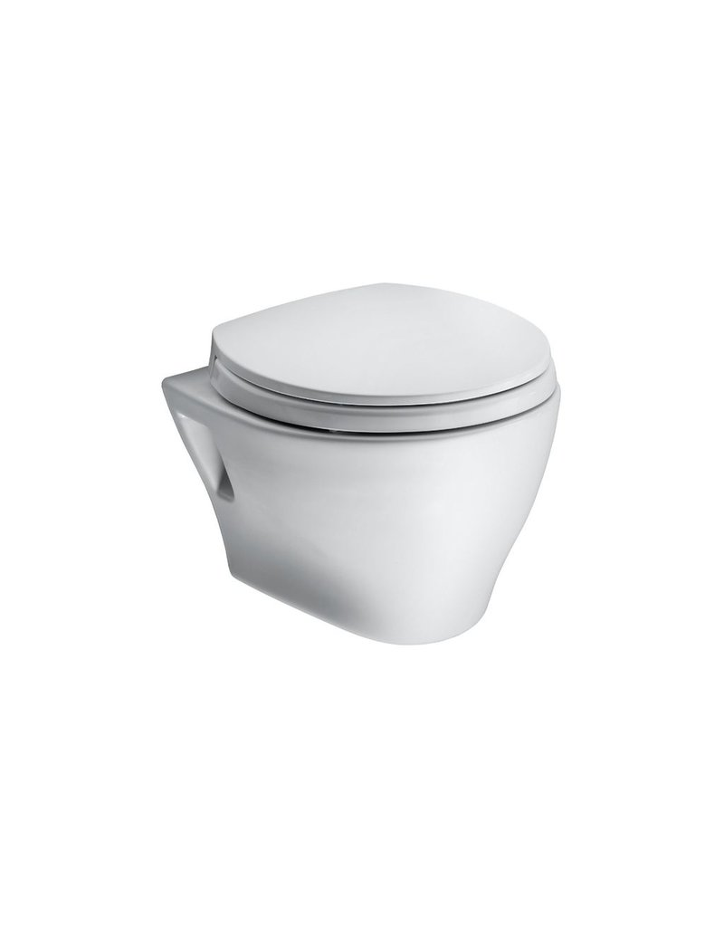 Toto Toto Aquia Wall Hung Toilet Less Sanagloss - Cotton