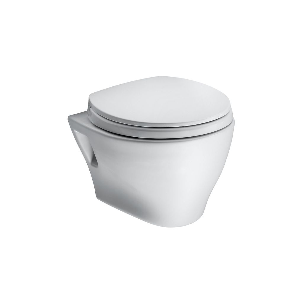 Toto Toto CT418F01 Aquia Wall Hung Toilet Less Sanagloss
