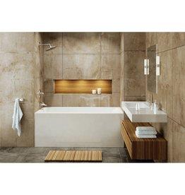 Mirolin Mirolin BO62LW Adora Bath Tub Left Hand Drain - White