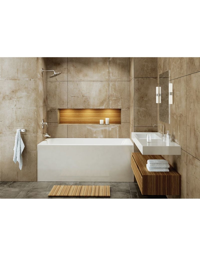 Mirolin Mirolin BO62RW Adora Bath Tub Right Hand Drain - White