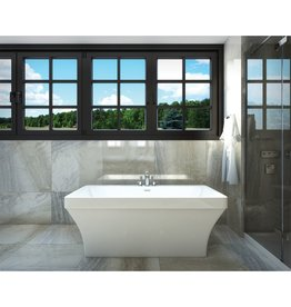 "Mirolin Mirolin CF2005 Cruz 60"" x 33"" Freestanding Tub"