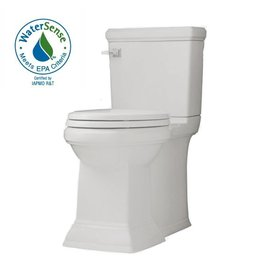 American Standard American Standard Town Square Right Height Elongated Two Piece Toilet - White