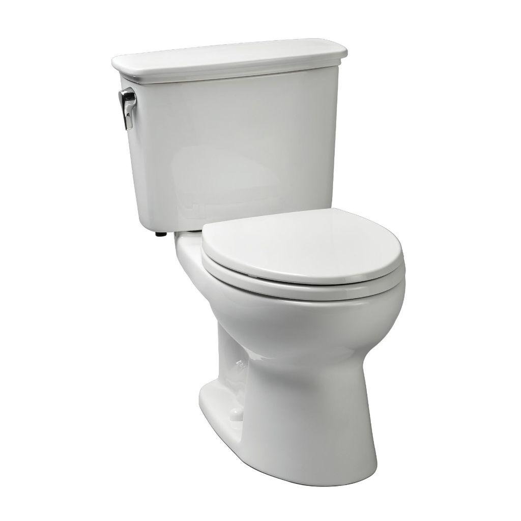 Toto CST743EN Eco Drake Transitional Toilet Round - Cotton - Home ...