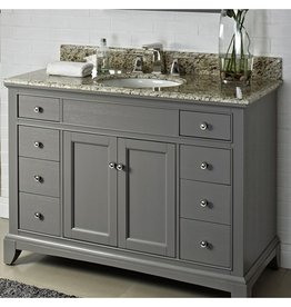 "Fairmont Designs Fairmont Designs Smithfield 48"" Vanity - Medium Gray"