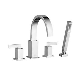American Standard American Standard 7184900 Times Square Deck Mount Tub Filler - Chrome