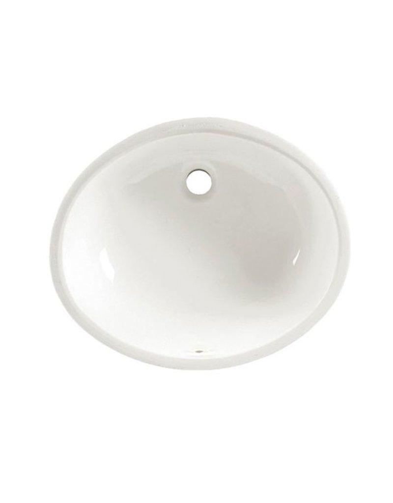 American Standard American Standard 0496221 Ovalyn Undermount Sink   White  ...