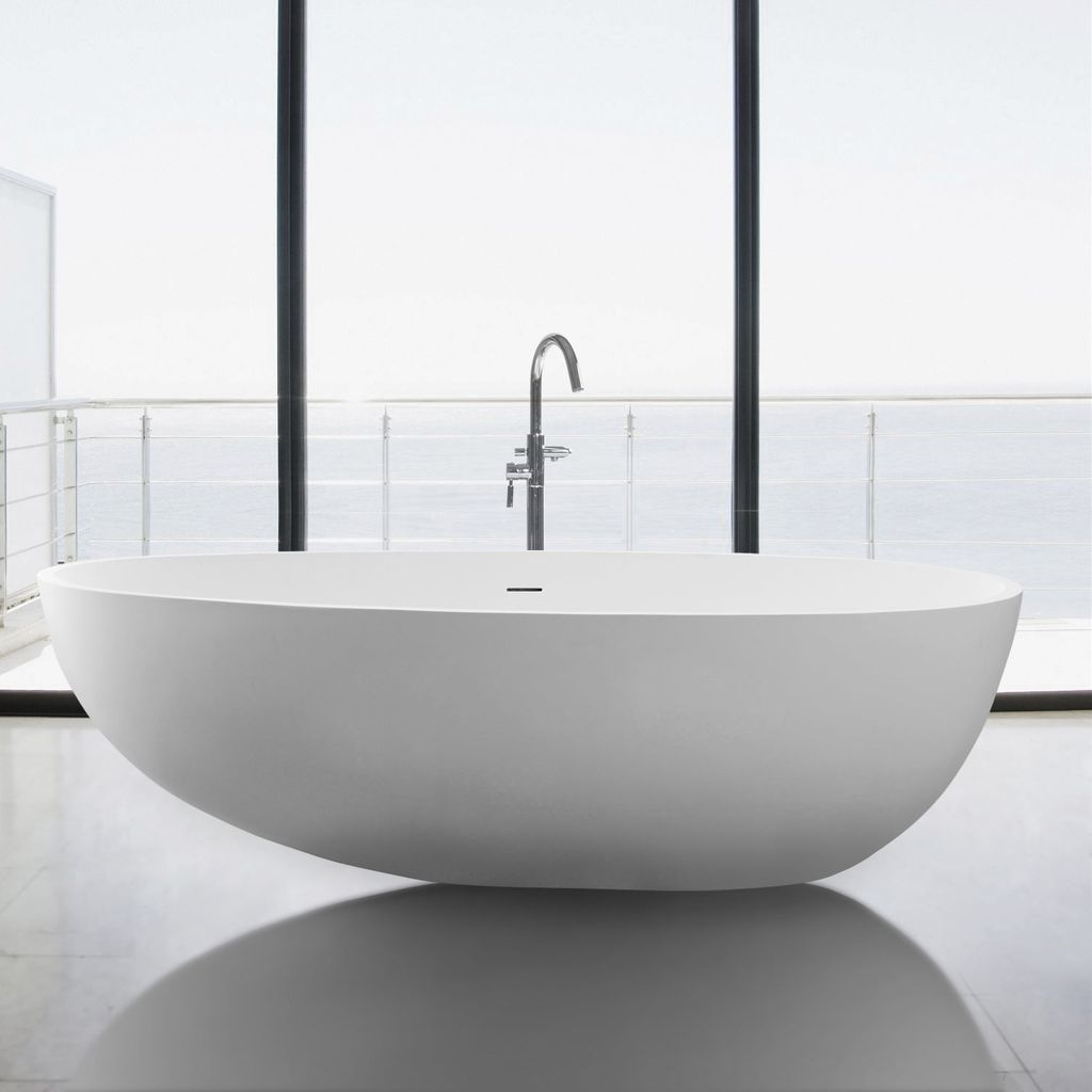 Mirolin FSW104 Nerissa Freestanding Bath Tub - Home Comfort Centre