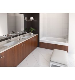 "Mirolin Mirolin WO33R Salina 66"" Alcove Bath Tub With Whirlpool"