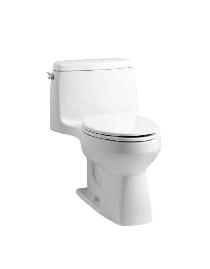 kohler k3811 santa rosa one piece compact elongated toilet