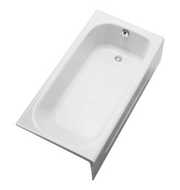 Toto TOTO FBY1515RP01 Enameled Cast Iron Bathtub Right Hand Drain