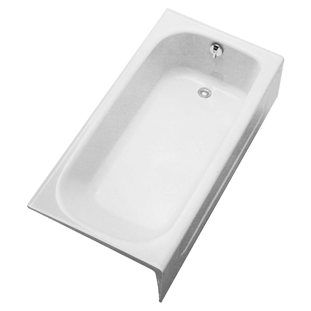 TOTO FBY1515RP01 Enameled Cast Iron Bathtub Right Hand Drain - Home ...
