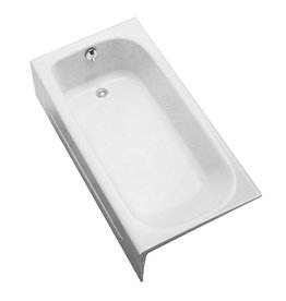 Toto TOTO FBY1515LP12 Enameled Cast Iron Bathtub Left Hand Drain