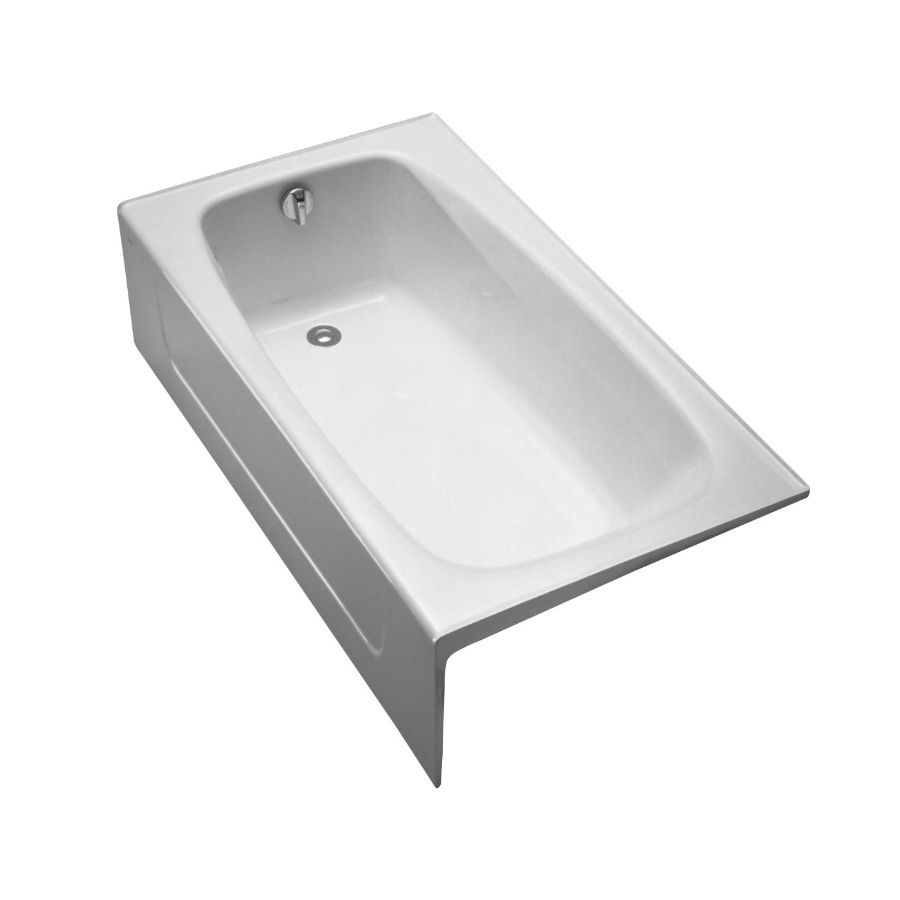 Toto Fby1525lp12 Enameled Cast Iron Bathtub Left Hand