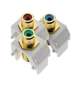 Legrand Legrand ACRGBRCAFW1 Component Video RCA to F Kit