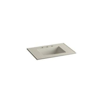 Kohler Kohler 2779 8 G85 Ceramic/Impressions 31 Rectangular Vanity Top  Bathroom ...
