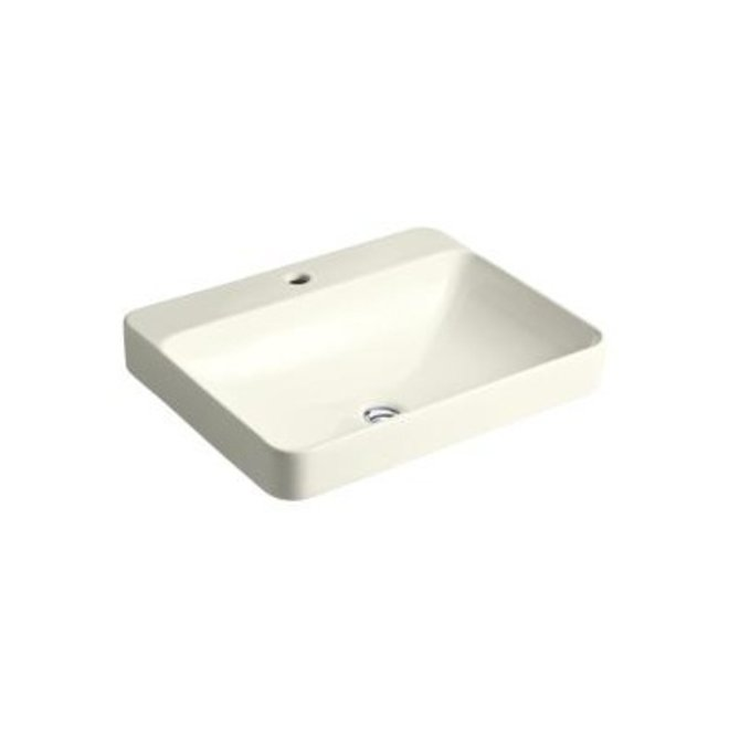 Kohler K2660 Vox Rectangle Vessel Bathroom Sink Single Hole Home Comfort Centre