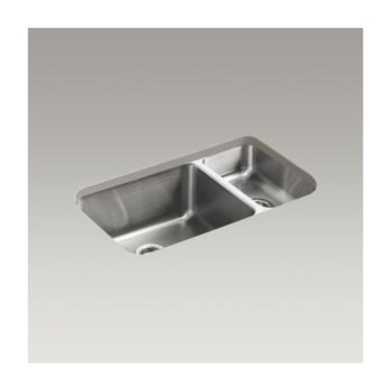 Kohler K3174 Undertone 31 X 18 Undermount Double Bowl Kitchen Sink Home Comfort Centre