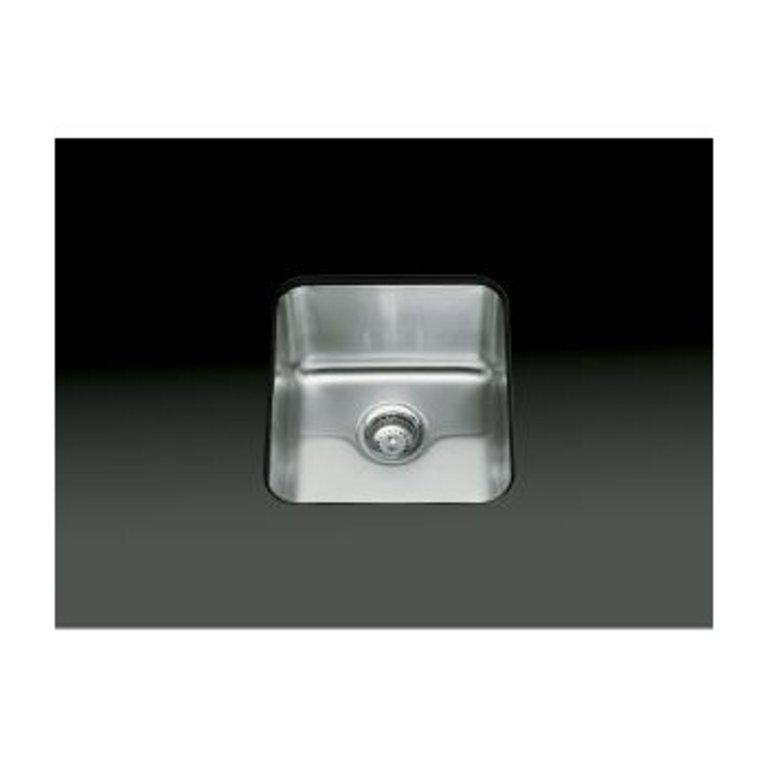 Kohler K3330 Undertone 15 X 17 Medium Squared Undermount Single Kitchen Sink Home Comfort Centre
