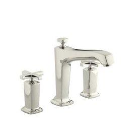 Kohler Kohler KT16236 Margaux Deck Mount High Flow Bath Faucet Cross Handles