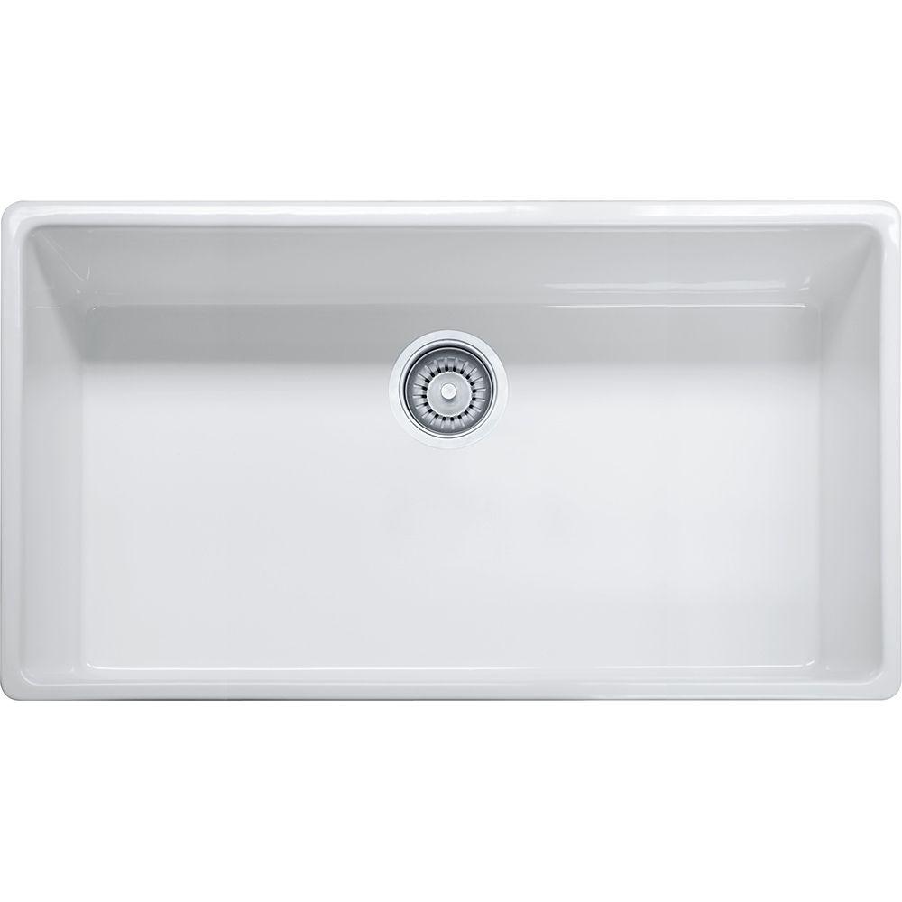 Franke Farm House Fhk710 36 Fireclay White Sink Home