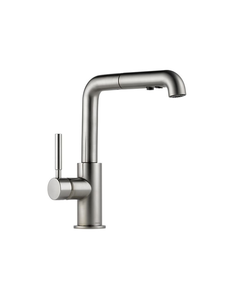 Solna Single Handle Pull Out Kitchen Faucet
