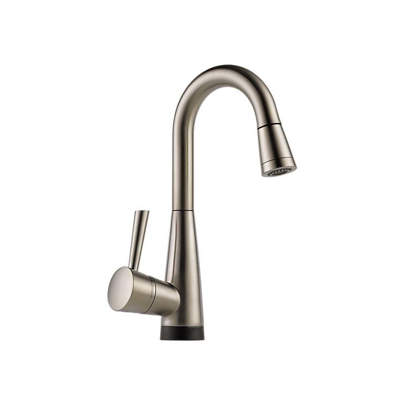 Brizo 64970lf Solna Single Handle Pull Down Smart Touch Prep Faucet