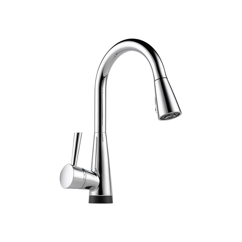 Brizo 64070lf Venuto Single Handle Pull Down Smart Touch