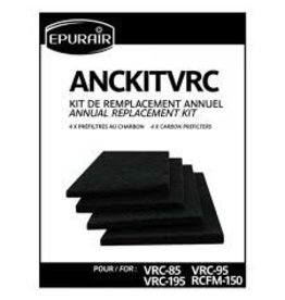 Epurair Epurair VRC-95/VRC-195 Annual Filter Kit