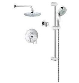 Grohe Grohe Timeless THM Dual Function Shower Kit - Chrome