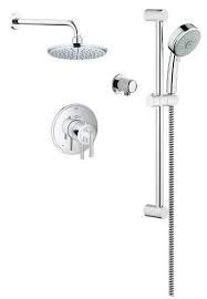 Grohe Grohe 117161 Timeless THM Dual Function Shower Kit Chrome