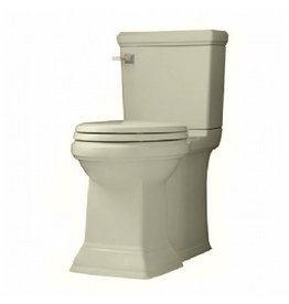 American Standard American Standard Town Square Right Height Elongated Two Piece Toilet - Linen