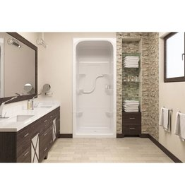 Mirolin Mirolin SH3L Madison 3 One Piece Shower Stall White