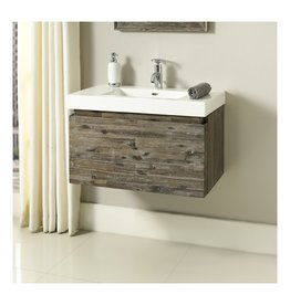 "Fairmont Designs Fairmont Designs 1522-WV3018 Acacia 30x18"" Wall Mount Vanity Organic Brown"